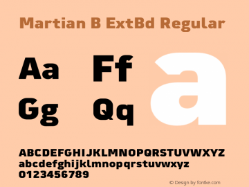 Martian B ExtBd