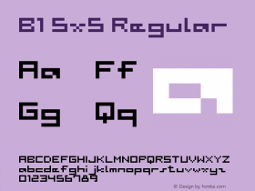 B1 5x5