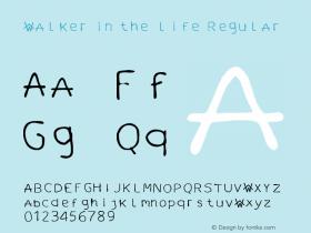 walker in the life
