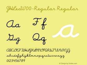 JHLea-Regular