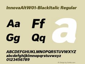 InnovaAlt-BlackItalic