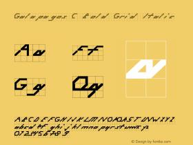 Galapagos C Bold Grid