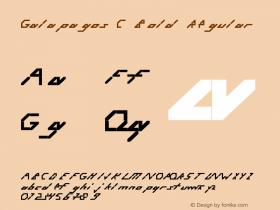 Galapagos C Bold