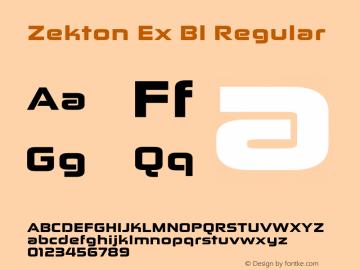 Zekton Ex Bl