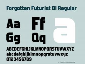 Forgotten Futurist Bl