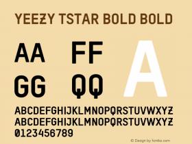 YEEZY TSTAR Bold