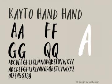 Kayto Hand