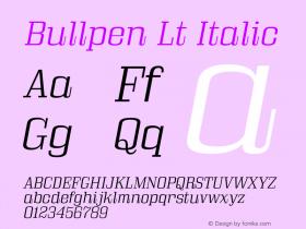 Bullpen Lt