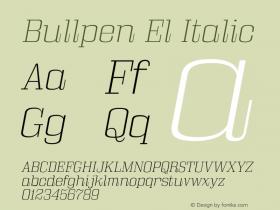 Bullpen El