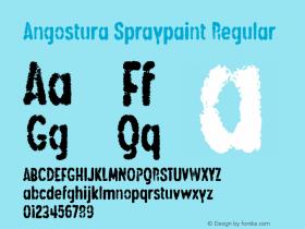 Angostura Spraypaint