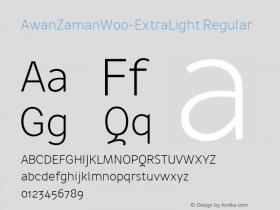 AwanZaman-ExtraLight