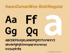 AwanZaman-Bold