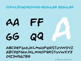 CCEvilSchemes-Regular