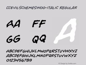 CCEvilSchemes-Italic