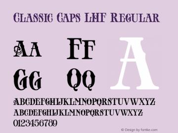 Classic Caps LHF