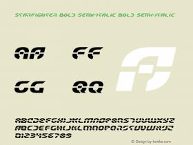 Starfighter Bold Semi-Italic