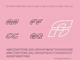 Starfighter Outline Italic