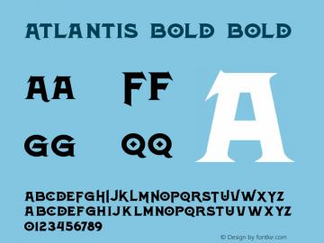 Atlantis Bold