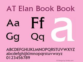 AT Elan Book