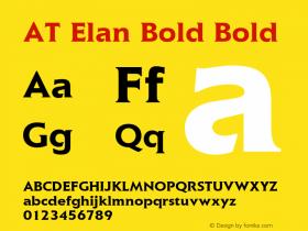 AT Elan Bold