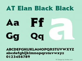 AT Elan Black