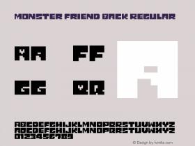 Monster Friend Back