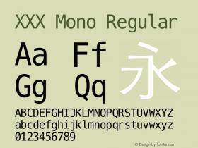 XXX Mono