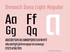 Smooch Sans Light