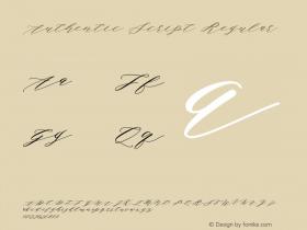 Authentic Script