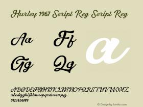 Hurley 1967 Script Reg