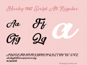 Hurley 1967 Script Alt