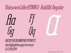 UnknownCallerBTN-BoldObl