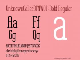UnknownCallerBTN-Bold