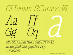 GLTetuan-SCursive
