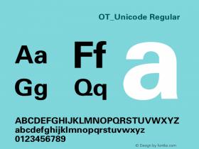 方正八思巴文忽必烈体OT_Unicode