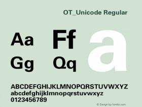 方正八思巴文方体OT_Unicode