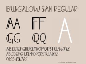 BUNGALOW SAN