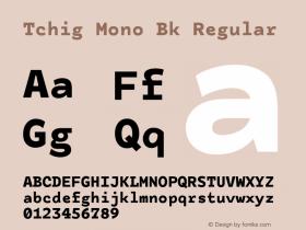 Tchig Mono Bk