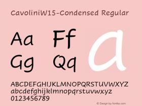 Cavolini-Condensed