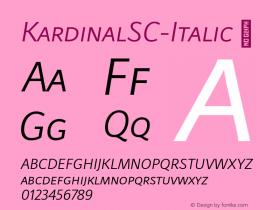KardinalSC-Italic