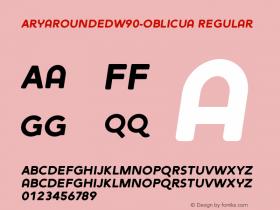 AryaRounded-Oblicua