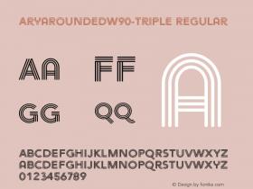 AryaRounded-Triple
