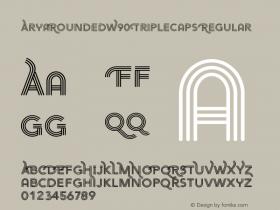 AryaRounded-TripleCaps