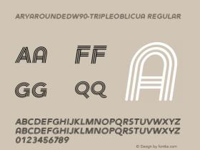 AryaRounded-TripleOblicua