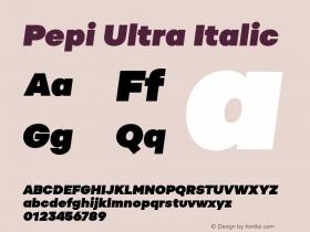Pepi Ultra