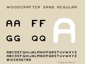 Woodcrafter Sans