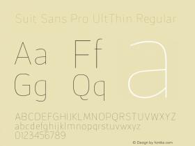 Suit Sans Pro UltThin