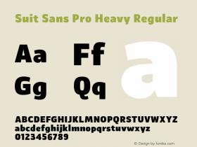 Suit Sans Pro Heavy