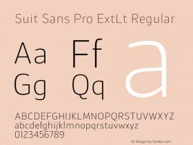 Suit Sans Pro ExtLt