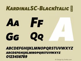 KardinalSC-BlackItalic